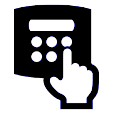 door entry icon