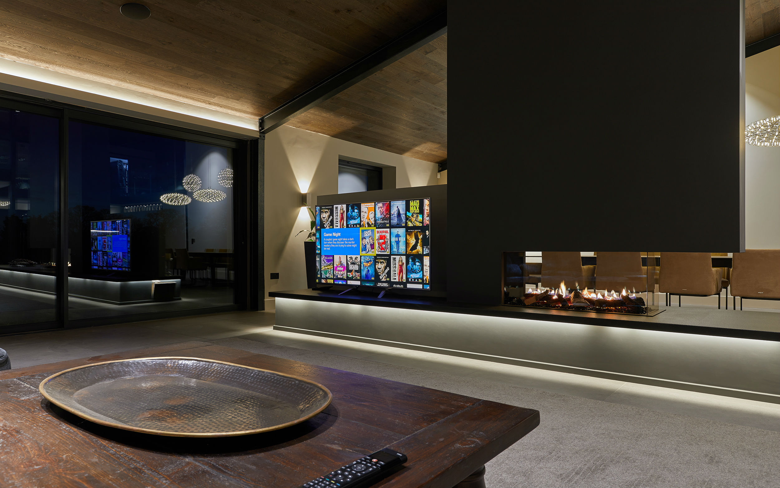 Smart home temperature control creates the perfect ambience