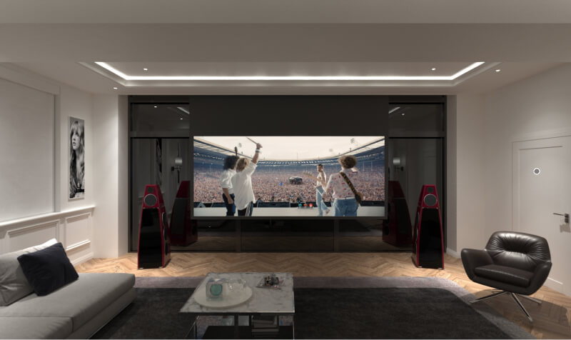 VR home cinema design brings a new depth to our design phase