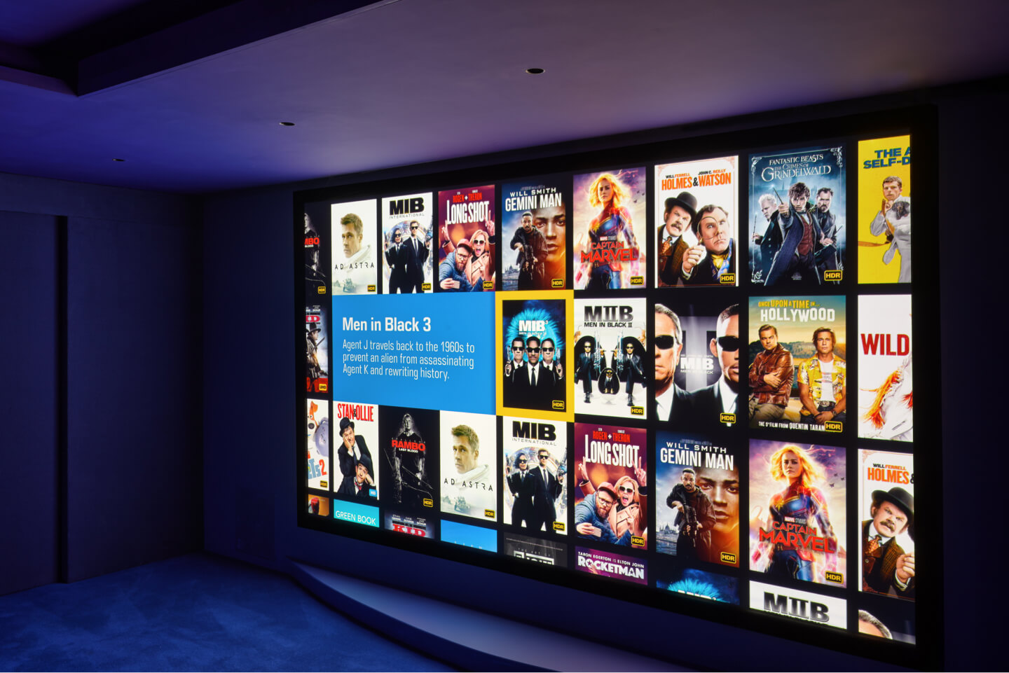 Big screen movies in your own home